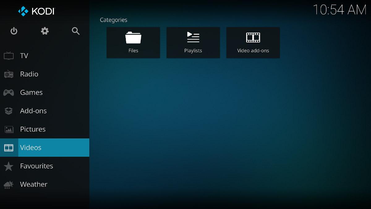 Kodi-19-user-interface