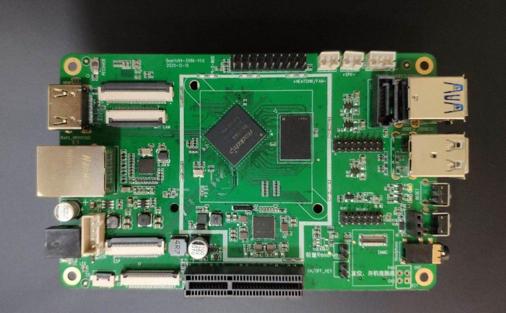 Quartz64-RK3566-SBC
