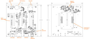 Raspberry-Pi-CM4-NAS-Carrier-Board-Layout