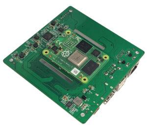 Raspberry-Pi-Compute-Module-4-NAS-Carrier-board