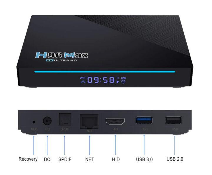 กล่องทีวี-RK3566