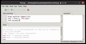Thonny-Raspberry-Pi-Pico-Sample