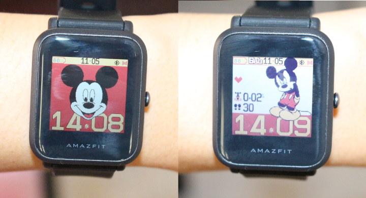 Amazfit-Bip-นาฬิกา-หน้าจอ-มิกกี้เม้าส์