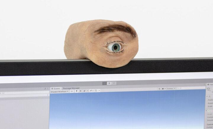 Eyecam-เว็บแคม-รูปร่างดวตา