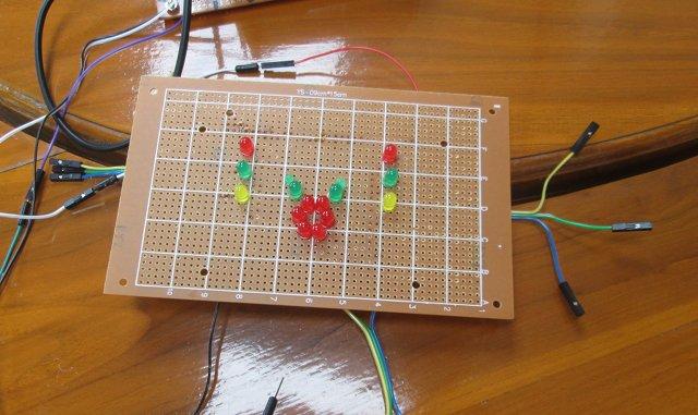 Raspberry_Pi_Stripboard_LED_Top