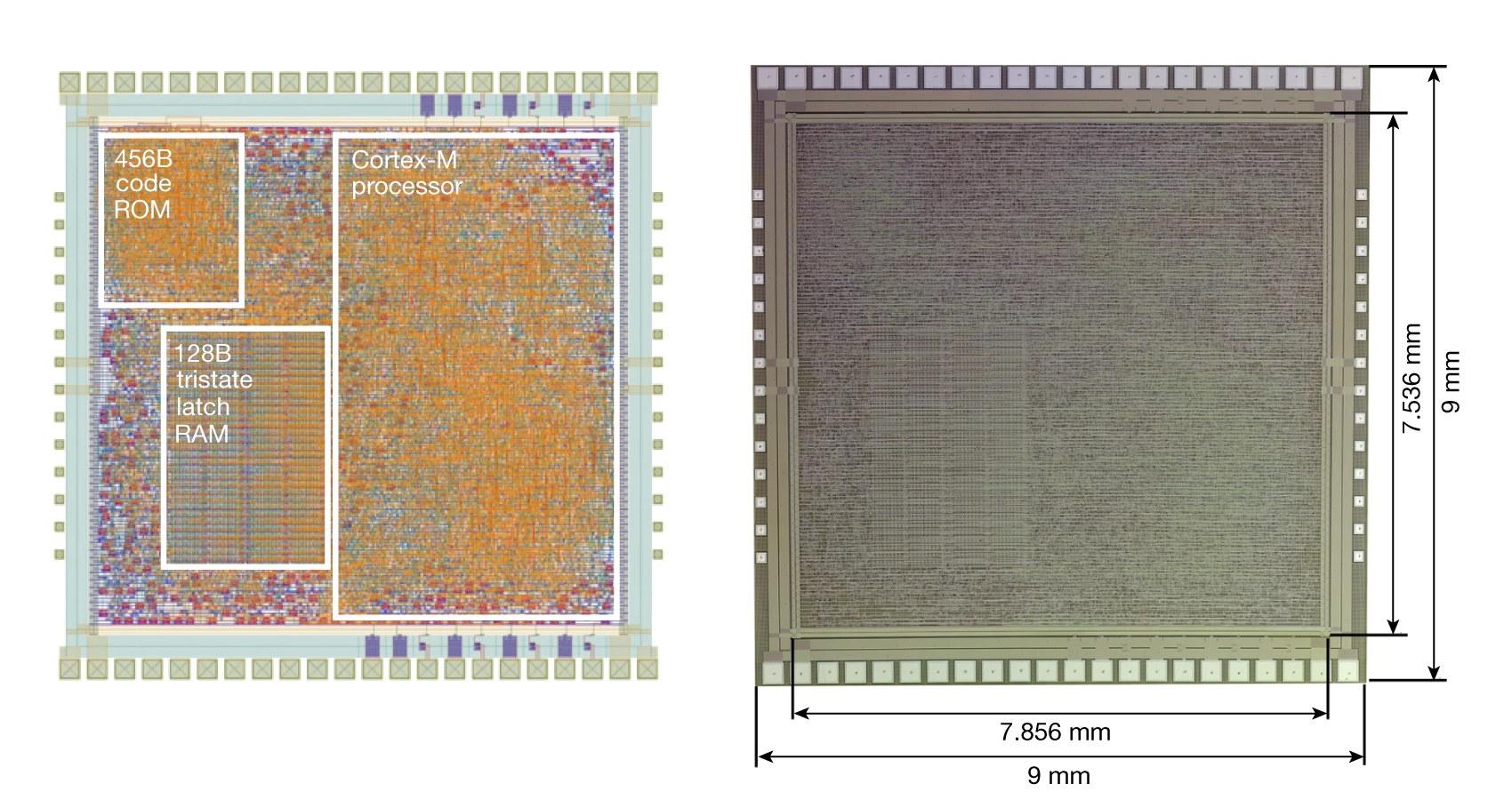 PlasticArm-Cortex-M0-plastic-MCU