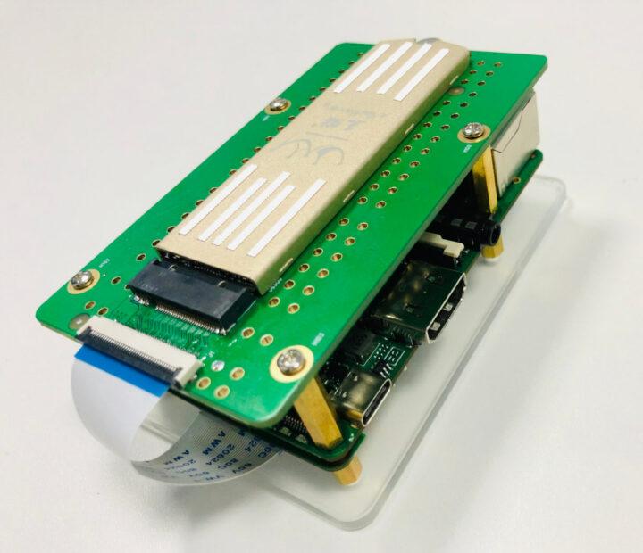 Rock-Pi-4-SSD-expansion-board