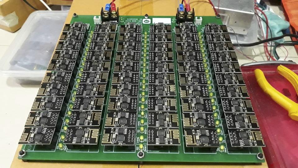 ESP-01-firmware-update-board