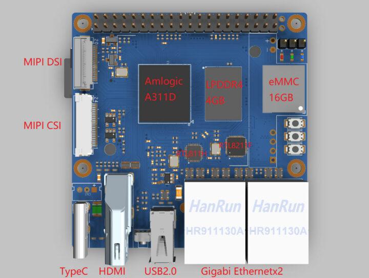 Amlogic-A311D-SBC