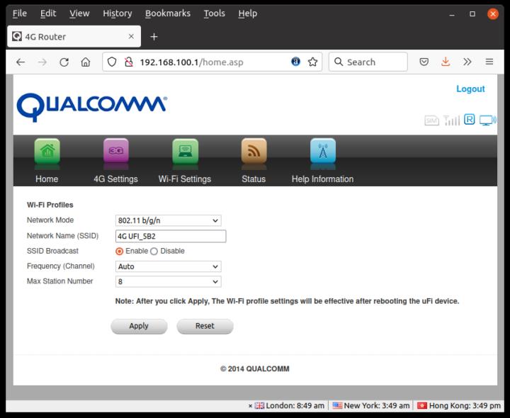 Qualcomm-WiFi-profiles