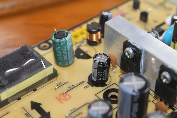 1000ua-10V-capacitor-replacement