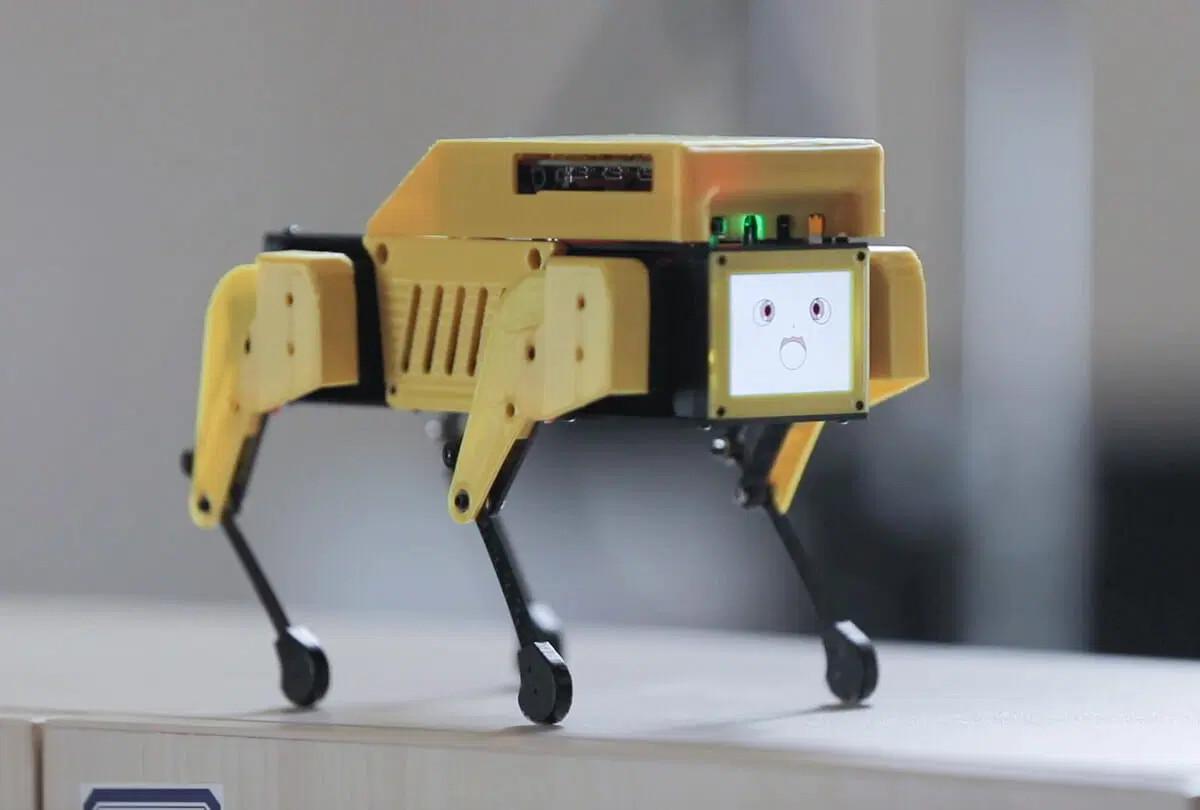 Mini-Pupper-Raspberry-Pi-4-Robot-Dog